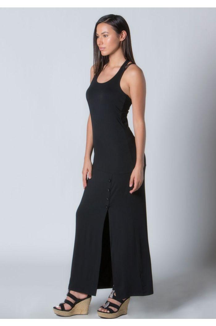 V-Cross Maxi Dress